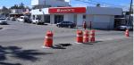 El socavón de la calle Paseo del Pescador corresponde a Fonatur; la dependencia municipal colocó señalamientos de seguridad en esa zona para los peatones y automovilistas
