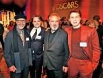 Se reúnen los nominados al Oscar 2020