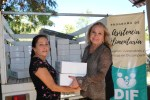 59 Familias son beneficiadas con primera entrega de despensas del DIF La Paz