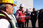 Supervisa Alcalde avance en construcción del parque fotovoltaico