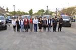 Alcaldesa Armida Castro entrega 9 camionetas y 2 motocicletas a la policía de Los Cabos, para la seguridad de toda la ciudadanía