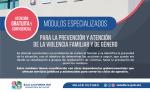 MÁS DE DOS MIL ATENCIONES BRINDARON LOS MÓDULOS DE PREVENCIÓN DE VIOLENCIA