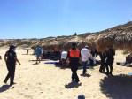 Continúa Gobierno de Los Cabos vigilando los litorales; 150 personas y sus pertenencias fueron retiradas de 3 playas