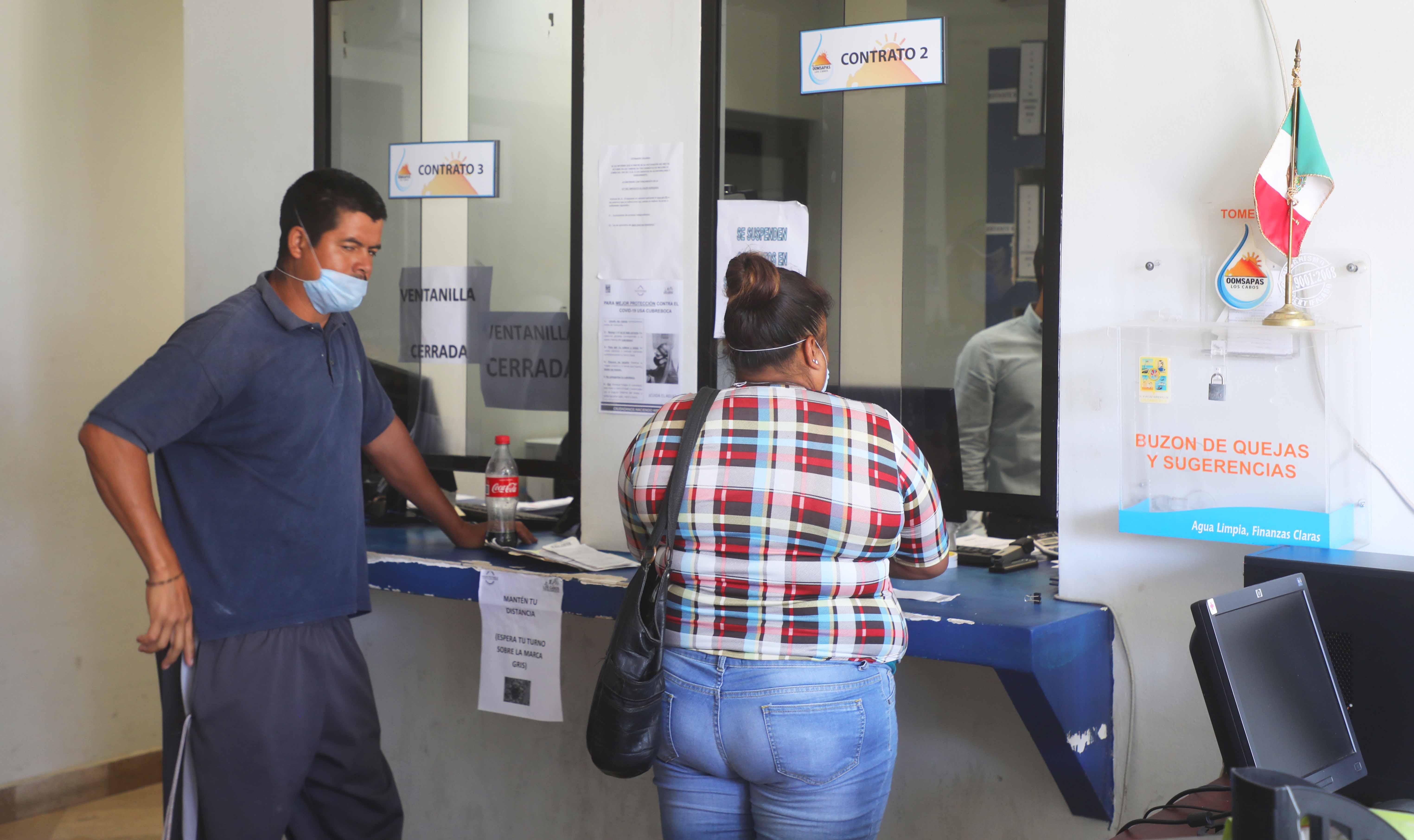 Se reincorpora personal de Oomsapas Los Cabos en todas sus áreas administrativas