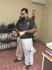 FOTO 5 CONTINÚAN CON SANITIZACIÓN EN OFICINAS DEL PALACIO MUNICIPAL DE LORETO