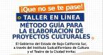 IMPARTIRÁ EL ISC TALLER PARA LA ELABORACIÓN DE PROYECTOS CULTURALES