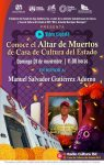 PRESENTARÁ CASA DE CULTURA RECORRIDO VIRTUAL DE SU TRADICIONAL ALTAR DE MUERTOS
