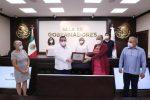 RECONOCE ALIANZA COMUNITARIA PARTICIPACIÓN DEL GOBIERNO ESTATAL EN PROGRAMA ALIMENTARIO EMERGENTE POR PANDEMIA