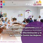 En Los Cabos se implementan políticas públicas que disminuyen la brecha de desigualdad y garantizan los derechos de las mujeres