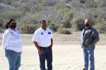 Servicios Públicos continúa con la rehabilitación de los caminos de la costa en Los Cabos