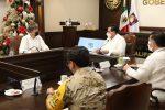 GOBERNADOR CARLOS MENDOZA Y EMBAJADOR DE LOS ESTADOS UNIDOS EN MÉXICO SE REUNEN