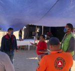 Protección Civil de Los Cabos refuerza medidas sanitarias durante el nivel 4 del Sistema de Alerta Sanitario de B.C.S.