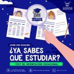 APLICA INSTITUTO DE LA JUVENTUD MÁS DE MIL 300 TEST VOCACIONALES