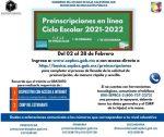 COMENZARÁN EN BCS PREINSCRIPCIONES A EDUCACIÓN BÁSICA PARA CICLO 2021-2022