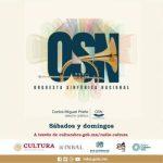 INVITAN A DISFRUTAR CONCIERTOS 2020 DE LA ORQUESTA SINFÓNICA NACIONAL