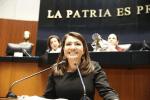SENADORA LUPITA SALDAÑA SOLICITA LICENCIA