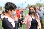 Cumple alcaldesa Armida Castro con más de 2 mil familias; inaugura la rehabilitación del parque público en Lomas del Rosarito