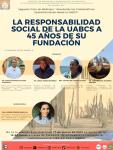 Durante foro virtual abordarán sobre la responsabilidad social de la UABCS a 45 años de su fundación