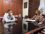 Se reúne alcaldesa Lorena Cortés con delegado regional del Gobierno de México en Los Cabos