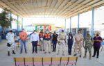 Autoridades del Gobierno de Los Cabos realizan recorridos de supervisión en refugios temporales de CSL