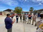Autoridades de los tres niveles de Gobierno supervisan posibles refugios temporales para el periodo de huracanes