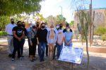 Estudiantes de la UABCS siembran árbol en honor a compañero fallecido