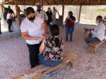 ACERCAN VACUNA ANTICOVID A COMUNIDADES LEJANAS DE BCS