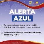 """Consejo Municipal de Protección Civil emite alerta azul en Los Cabos por tormenta tropical """"Enrique"""""""