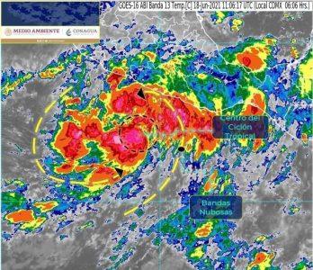 La Tormenta Tropical «Dolores» no representa riesgo para Los Cabos