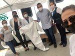Oscar Leggs contribuye con el personal médico para hacerle frente al COVID