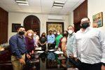 Se reune equipo de transición de Oscar Leggs con la comisión del XIII Ayuntamiento de Los Cabos