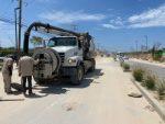Inició Oomsapas Los Cabos programa de desazolve y eliminación de derrames de aguas negras en Cabo San Lucas
