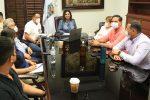 """Instalan Consejo Municipal de Protección Civil en Los Cabos, ante el pronóstico de la Tormenta Tropical """"Nora"""""""