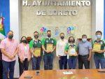 ENTREGAN RECONOCIMIENTOS A LOS GANADORES DEL PREMIO MUNICIPAL DEL DEPORTE EN LORETO.