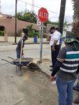 Inician trabajos de instalación de señales viales, en el primer cuadro de San José del Cabo y Cabo San Lucas