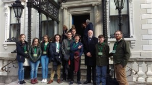 Easter Monday at the Mansion House
