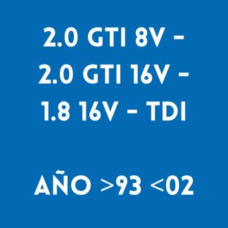 2.0 GTI 8V - 2.0 GTI 16V - 1.8 16V - TDI AÑO >93 <02