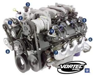 Used Chevrolet 81 Liter Motor For Sale, 19,106 Miles