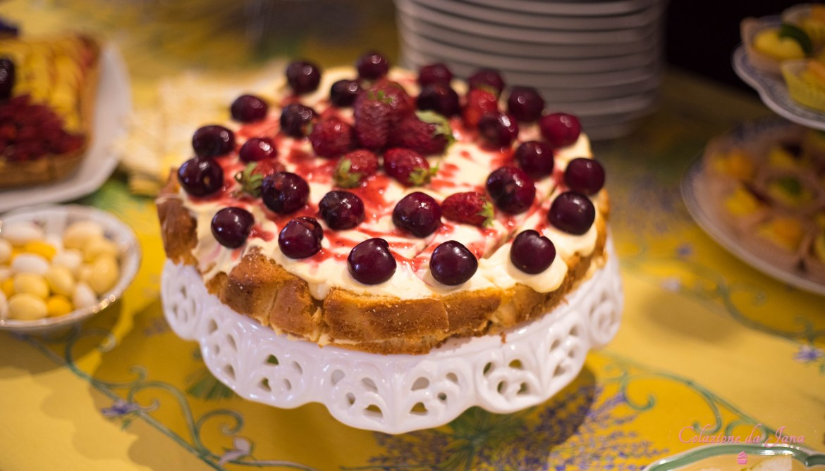 Il Tea Party d'estate-Torta allo yogurt