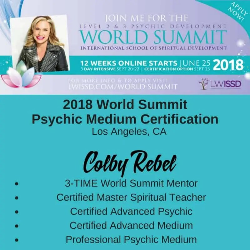 LWISSD Psychic Medium Summit-2018