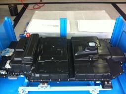 The 20 kWh Honda Fit EV Battery Pack, comprised of 432 2.3V cells