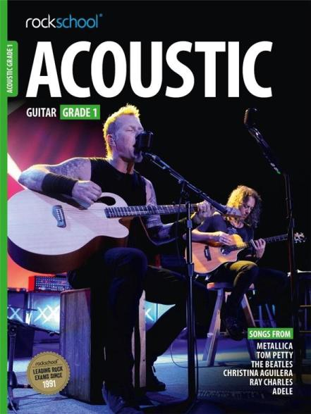 Rockschool Acoustic Guitar Grade 1 best guitar books for beginners