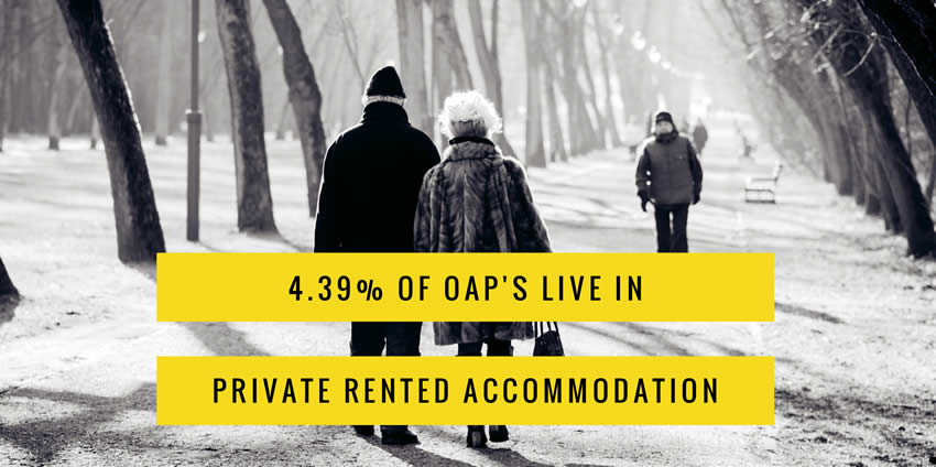 OAP Renters Occupy Over 3% of Colchester Households