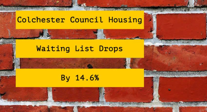 Colchester council house waiting list