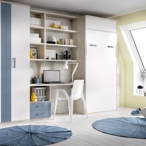 Cama abatível + armários Hab 409