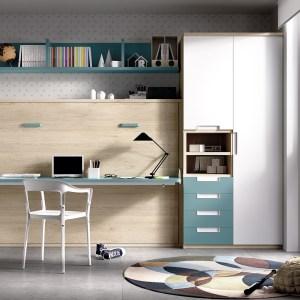 Cama abatível + armários Hab 410 1