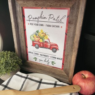 Pumpkin Decor Free Printable