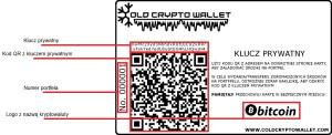 ColdCryptowallet - tylna strona