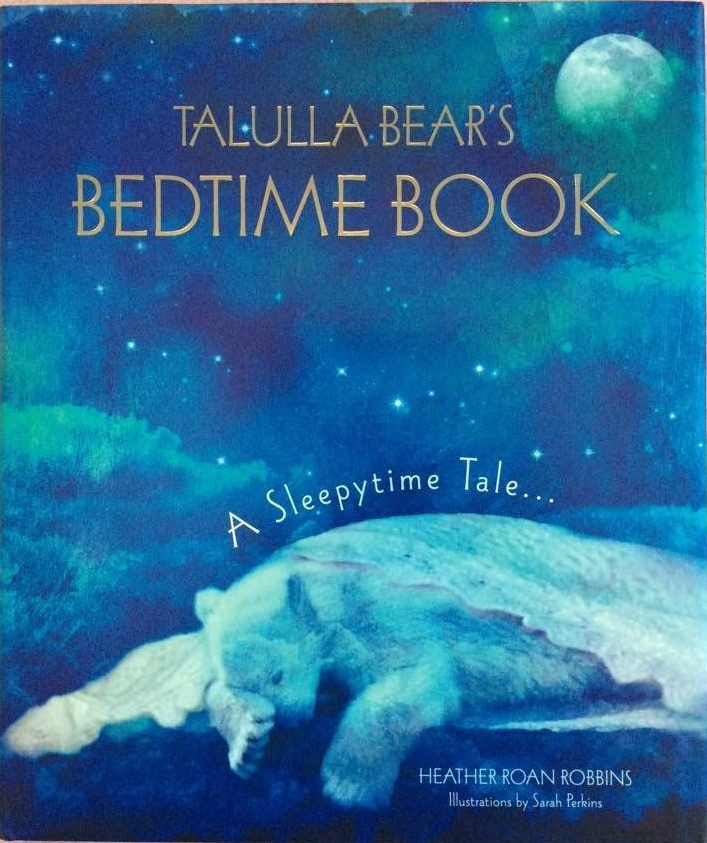 Tallula Bear's Bedtime Book #coldcuppaclub