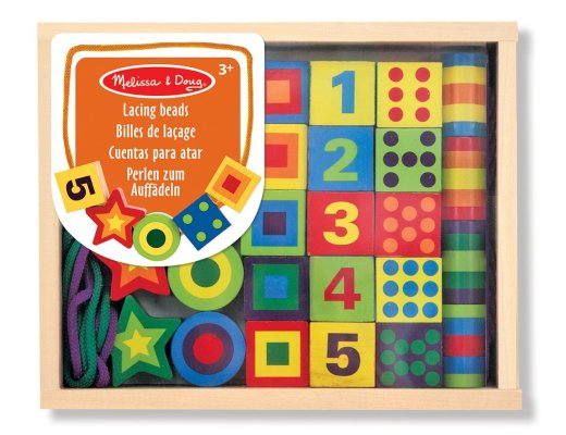Melissa and Doug Lacing beads #coldcuppaclub